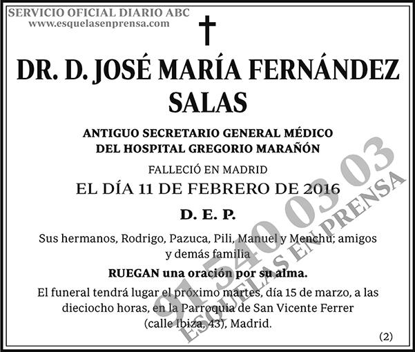 José María Fernández Salas